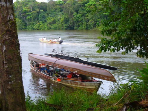 Bootstransport in Guyana